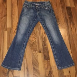 Blue Maurice's Size 0-X Short Boot Cut Jeans
